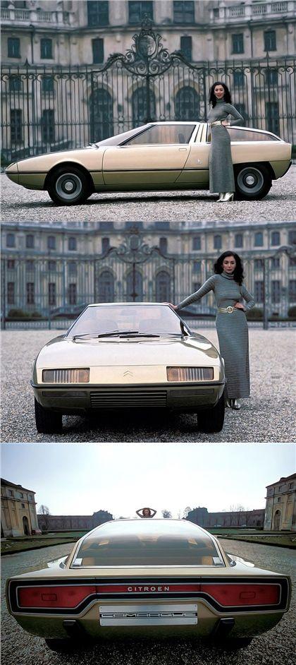 Citroen Camargue (Bertone), 1972.  Ugh. Photos: Rainer W. Schlegelmilch