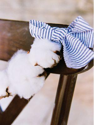 cotton + seersucker garland