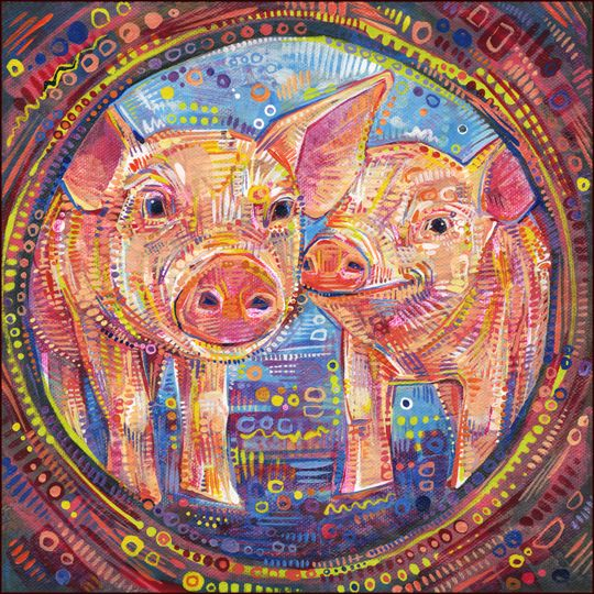 How piglets and a Buddhist concept sum up nicely what I'd like for the world.