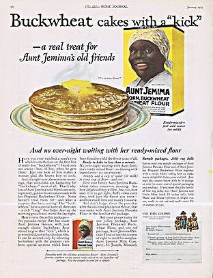 1920'S+Advertising | 1920's AUNT JEMIMA ADVERTISEMENTS