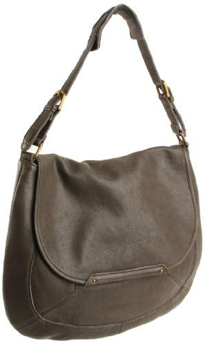 hobo oakmont shoulder bag in charcoal