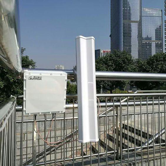 Marathon wireless monitoring installation site.