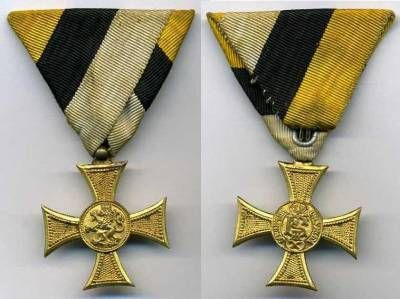 The OMSA Medal Database - NCO Long service cross (10 years) - OMSA