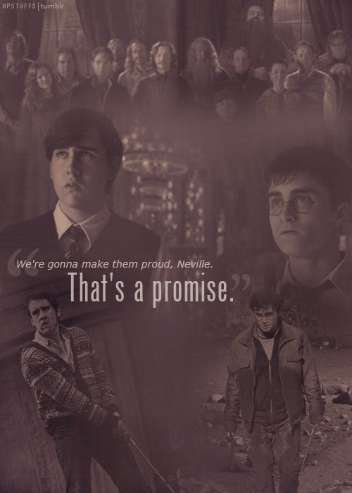 Vamos fazelos se orgulhar de nos Neville, eu prometo.