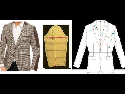 Modelistlik Elde Kalip Erkek Ceket Kol Kalibi Ders 62 Blazer Ceket Giyim Dikis