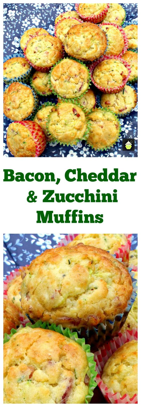 Zucchini muffins, Bacon and Bisquick on Pinterest