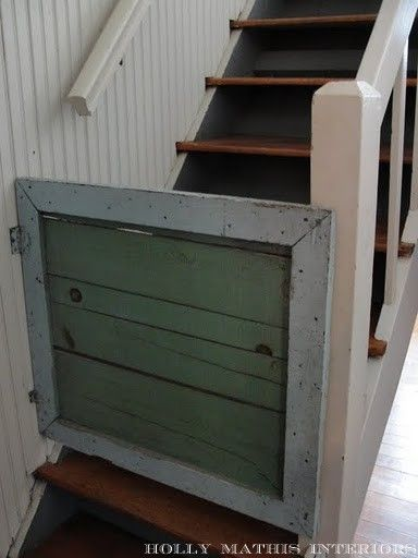 rustic baby gate from Holly Mathis blog (Rachel Ashwell Blogger luncheon)