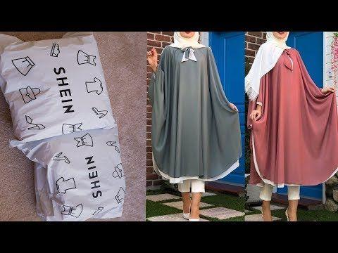 طريقة تفصيل شوميز فضفاضة لأصحاب اللباس الشرعي مشترياتي من موقع شي ان Shein Haul Youtube Hijab Designs Couture Abaya