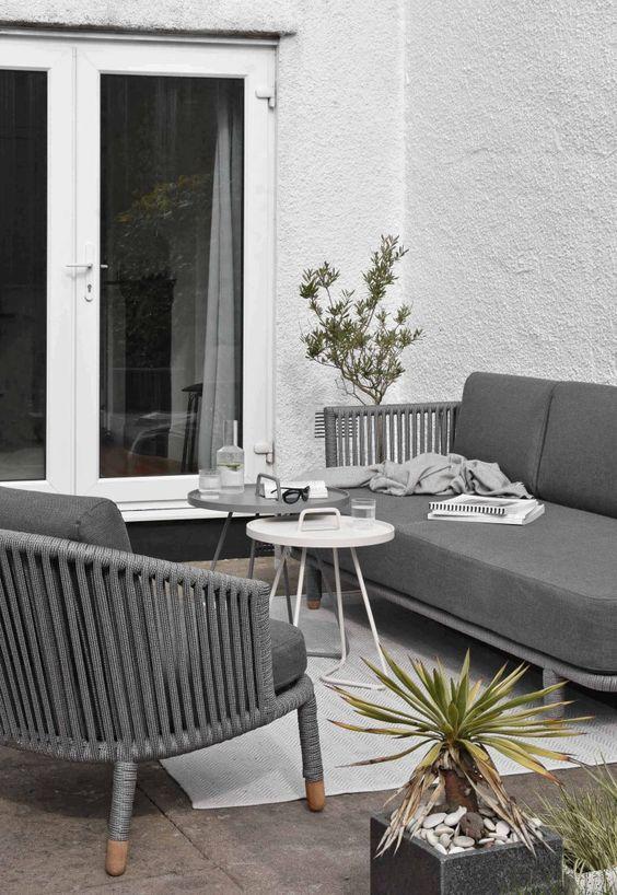 アウトドア ガーデン テーブル サイドテーブル コンパクト
