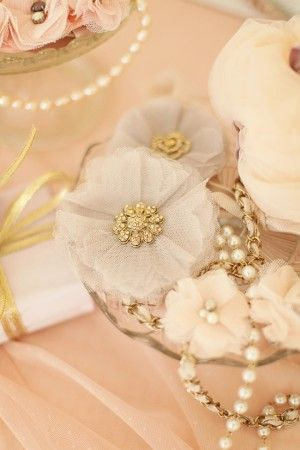 Tulle-Flowers