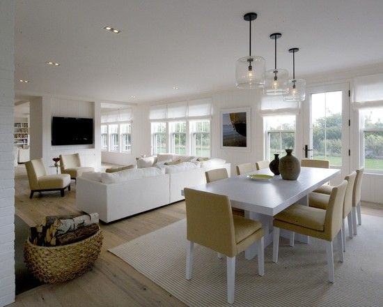 Open Plan Kitchen Dining Living, How To Decorate Open Plan Living And Dining Room Ideas