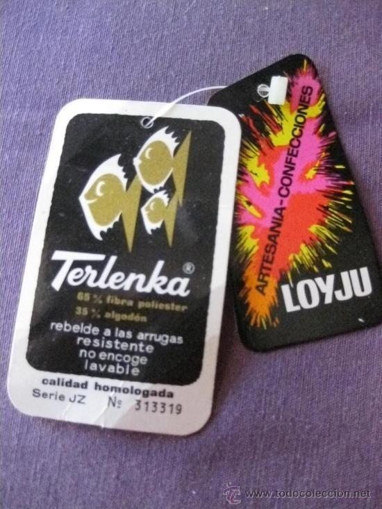 La Terlenka no se arrugaba pero era muy tiesa..