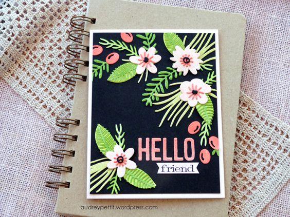Audrey Pettit: Funky Floral #1
