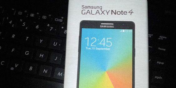 Galaxy Note 4: vazam fotos, especificações e até a caixa do produto