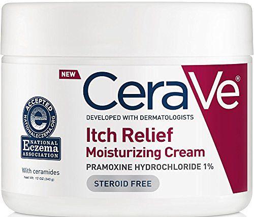 Cerave Moisturizing Cream For Itch Relief Dry Skin 12 Oz Cerave