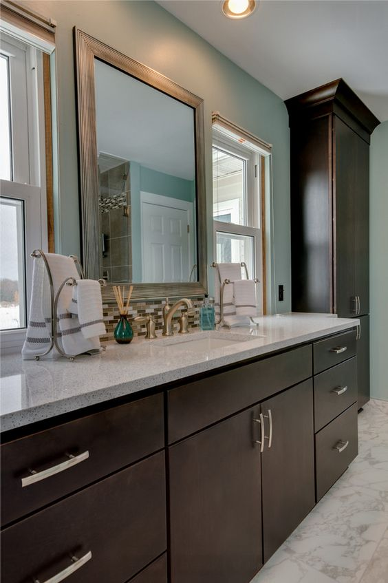 Jeff & Debbie's Bathroom - contemporary - Bathroom - Detroit - Dream Kitchens