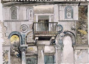 John Ruskin - Fondaco dei Turchi, Venise