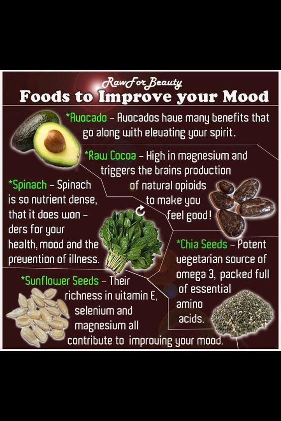 Mood improving foods