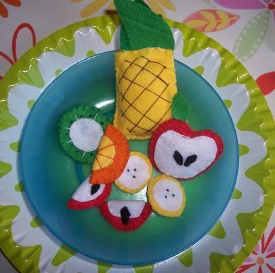10 migliori link x felt food cibo giocattolo pannolenci