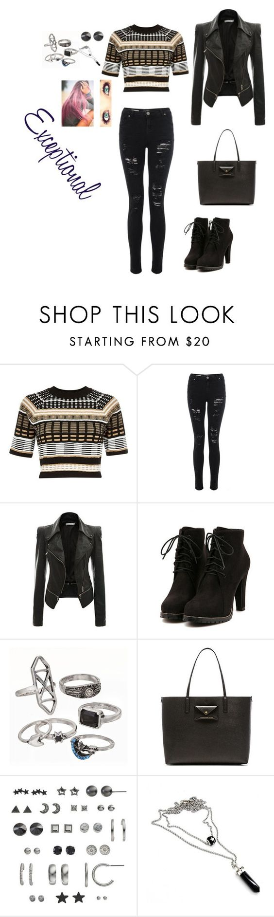 """""""Exceptional"""" by avalongreen-12 ❤ liked on Polyvore featuring River Island, Mudd, Marc by Marc Jacobs, SO, women's clothing, women, female, woman, misses and juniors"""