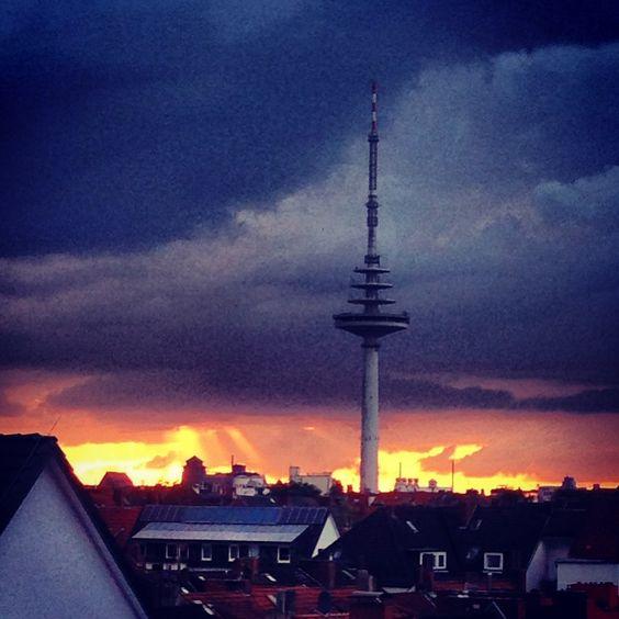 Von meinem Fenster aus :)