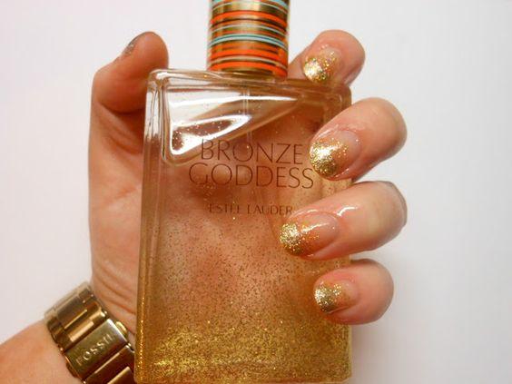 Bronze Goddess Nails