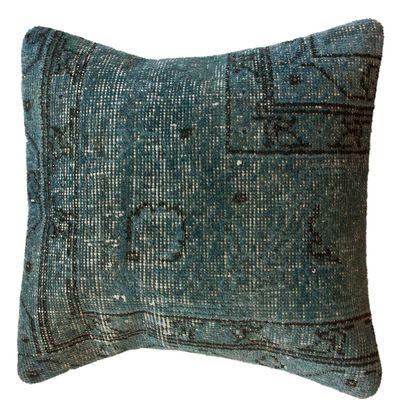 Overdyed Denim Pillow - June, Unique Finds