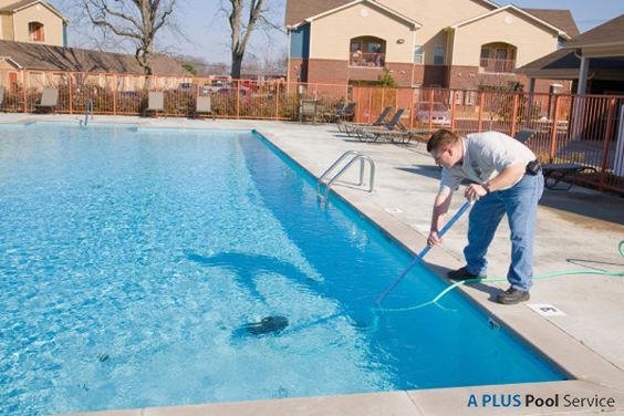 We Eliminate White Calcium Lines On Your Pool Tile With Our Revolutionary Glass Bead Cleaning Proc In 2020 Swimming Pool Service Pool Maintenance Pool Cleaning Service