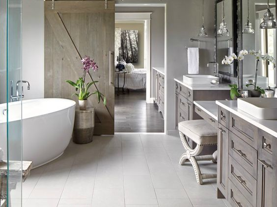 The bathroom is one of the few rooms in the house where many people are willing to spend huge sums of money to renovate. Inspired by dream magazine bathrooms, homeowners want to create a bathroom t…: