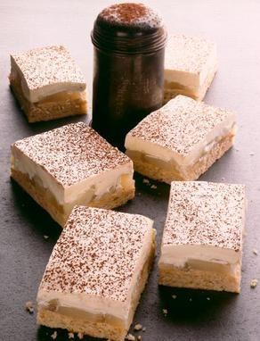 Ein saftiger Birnen-Frischk�sekuchen mit einer leichten Sherrynote