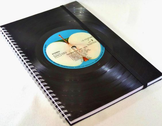 DIN A5 - KALENDER 2016 - Schallplatte, Wochenplaner - ein Designerstück von Aurum bei DaWanda