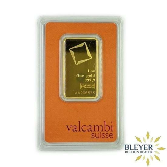 Purchase 1oz Valcambi Gold Bar From A Trusted Uk Bullion Dealer With Free Insured Delivery Mint Gold Gold Bar Gold