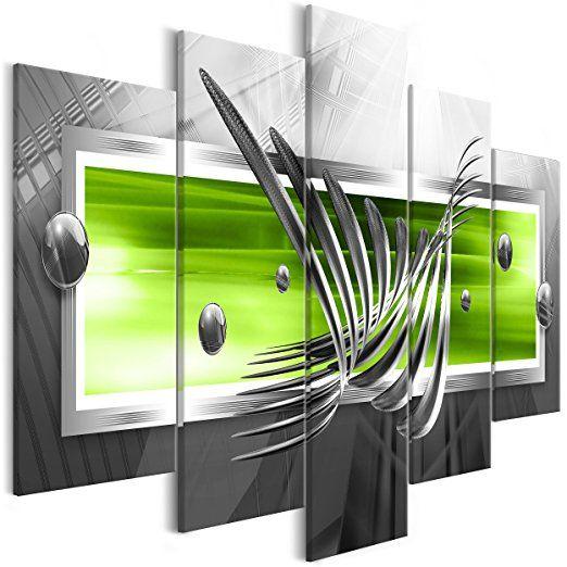 decomonkey | Bilder Abstrakt grün 225x100 cm - Bilder ...