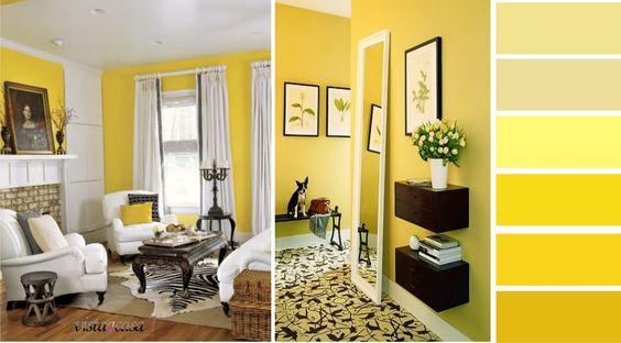 Inspiração das cores: amarelo!
