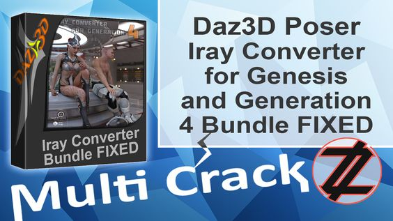 Daz3D Poser Iray Converter for Gen & Generation 4 By_ Zuket Creation Direct Download Here !!! http://multicrackk.blogspot.com/2015/12/daz3d-poser-iray-converter-for-gen.html