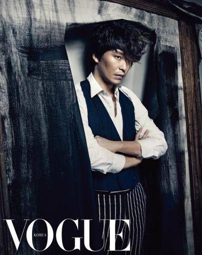 Uhm Ki Joon (엄기준) VOGUE Magazine.