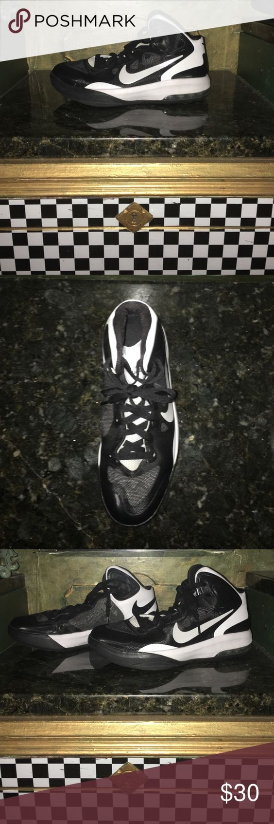 Nike Women's Basketball Sneakers Nike Women's Basketball sneakers never been worn perfect for high school or college women basketball players! Hyper Guard Up edition Nike Shoes Athletic Shoes