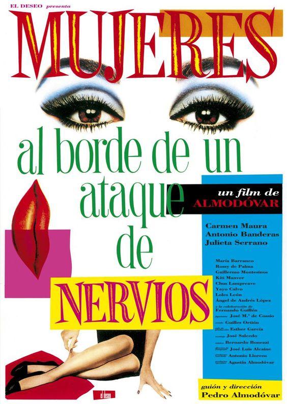 MUJERES AL BORDE DE UN ATAQUE DE NERVIOS / WOMEN ON THE VERGE OF A NERVOUS BREAKDOWN 神経衰弱ぎりぎりの女たち