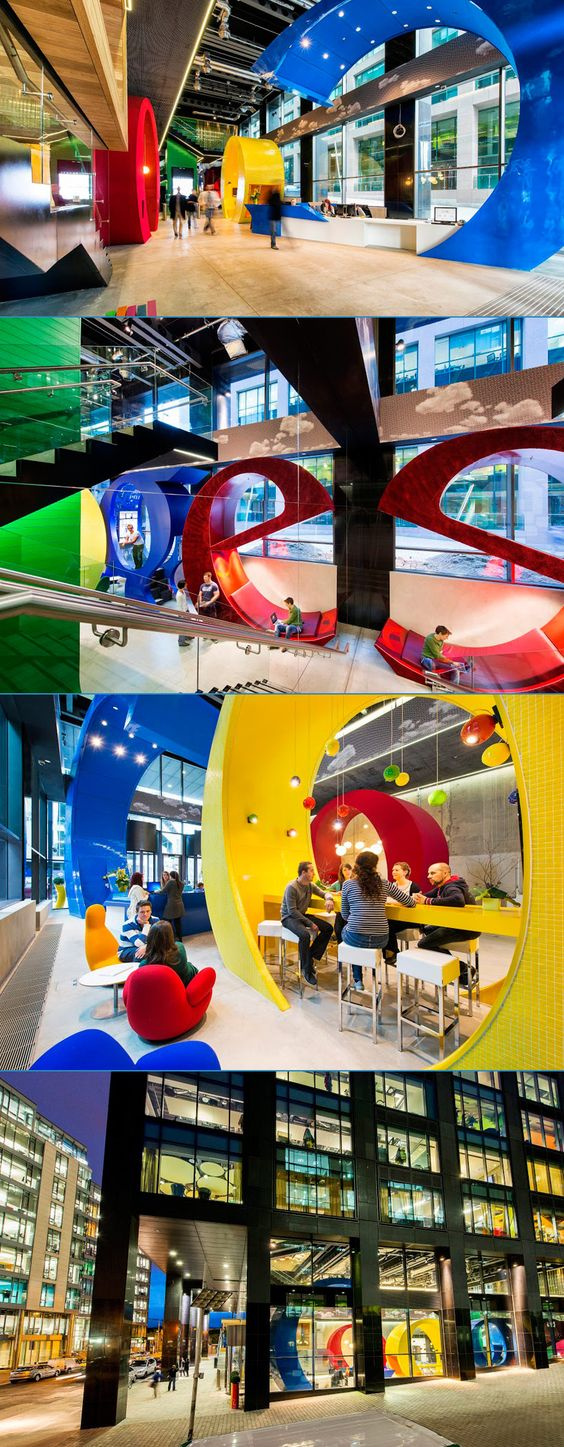 Google Docs Office | Dublin | Camenzind Evolution Architect | photo Peter Wurmli, © Camenzind Evolution