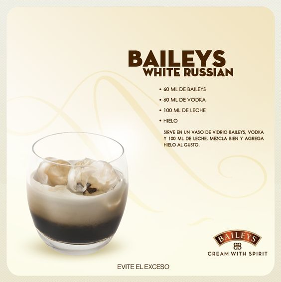 Baileys white russian recipe drinks drinks boozy for 7 and 7 drink recipe