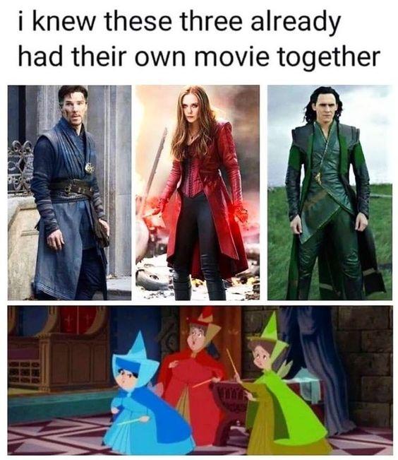 Avengers As Disney Princess