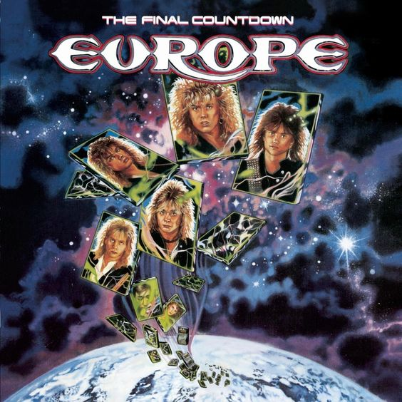 Europe – The Final Countdown (single cover art)