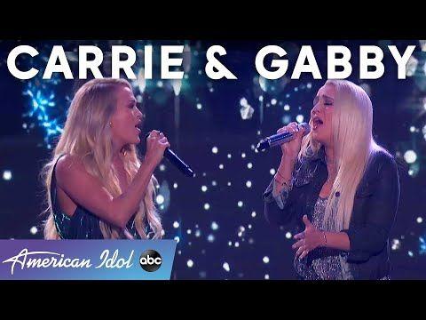 Idols Inspiring Idols From Carrie Underwood To Gabby Barrett To Laila Mach American Idol 2021 In 2021 American Idol Carrie Underwood American Idol Carrie Underwood