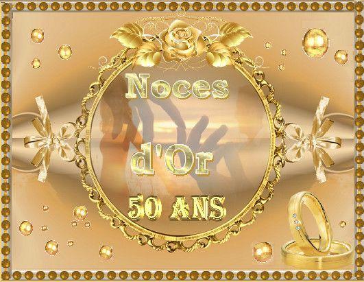 Carte Invitation Anniversaire 50 Ans De Mariage Gratuite A Imprimer