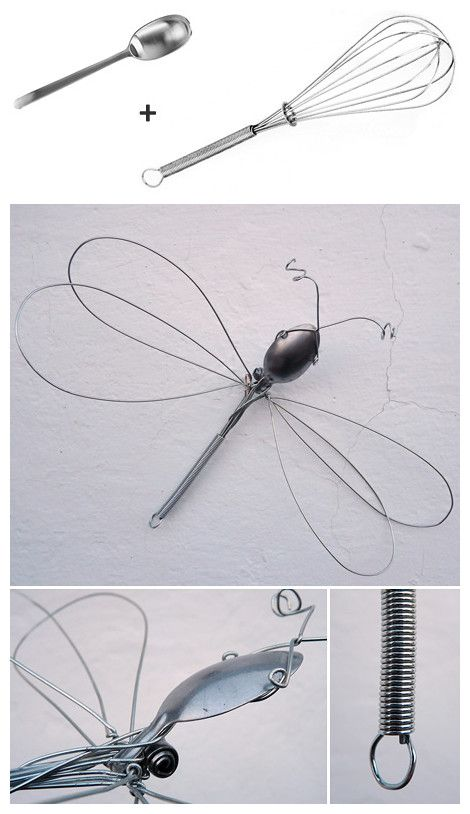 DIY Whisk Dragonfly: