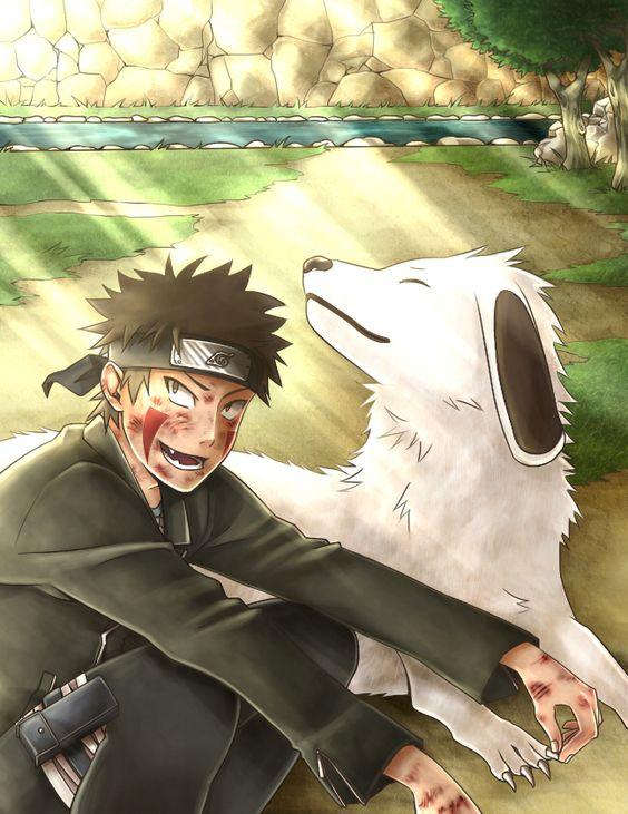 Kiba and Akamaru #Naruto #Kiba #Akamaru