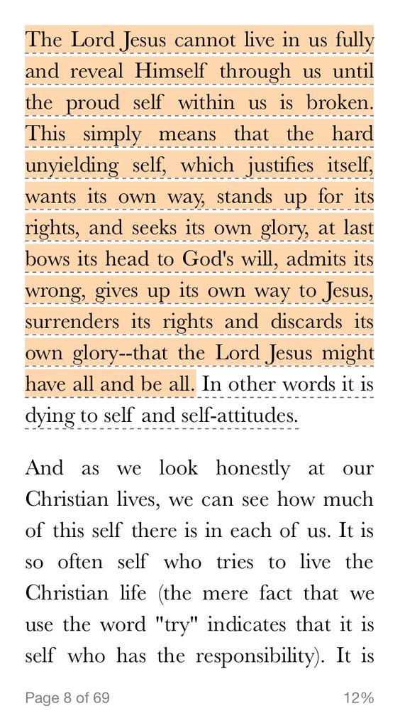 Surrendering to Jesus