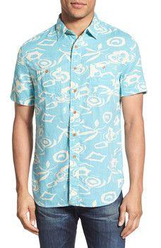 Grayers - 'Portogino' Print Short Sleeve Woven Shirt