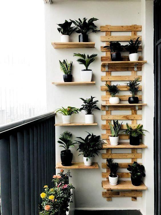 Cómo decorar un balcón pequeño y convertirlo en un jardín