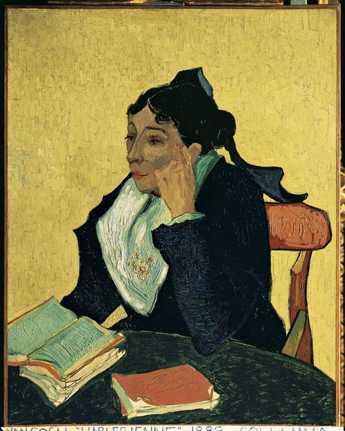 Vincent van Gogh, L'Arlésienne: Madame Joseph-Michel Ginoux (née Marie Julien, 1848–1911), 1888-89